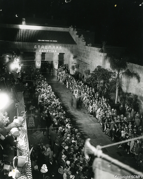 1926 Premiere of Sparrows at Grauman's Egyptian Theater