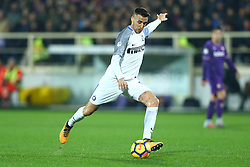 January 5, 2018 - Florence, Italy - Matas Vecino of Internazionale  during the serie A match between ACF Fiorentina and FC Internazionale at Stadio Artemio Franchi on January 5, 2018 in Florence, Italy. (Credit Image: © Matteo Ciambelli/NurPhoto via ZUMA Press)