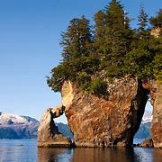 Three Hole Point in Aialik Bay in Kenai Fjords National Park Alaska