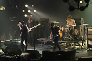 De 3FM Awards 2014 in de Gashouder, Amsterdam.<br /> <br /> Op de foto:  Kensington - Casper Starreveld , Eloi Youssef , Niles Vandenberg , Jan Haker