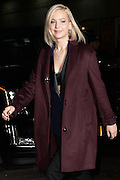Dec. 14, 2015 - New York, NY, USA <br /> <br /> Jennifer Lawrence arrives to tape an appearance on the Late Show<br /> showing off her bra as she arrives<br /> ©Exclusivepix Media