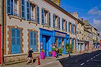 France, Manche (50), Cotentin, Saint-Vaast-la-Hougue, Rue de Verrue // France, Normandy, Manche department, Cotentin, Saint-Vaast-la-Hougue,  Verrue street