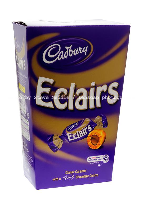 Box of Cadbury Chocolate Eclairs
