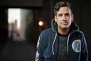 Portraits of musician Luis Dubuc, AKA The Secret Handshake, photographed in St. Louis on his headlining tour for Day & Night. November 5, 2010