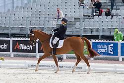 Silvia Veratti, (ITA), Zadok - Freestyle Grade Ib Para Dressage - Alltech FEI World Equestrian Games™ 2014 - Normandy, France.<br /> © Hippo Foto Team - Leanjo de Koster<br /> 25/06/14