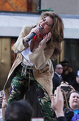 Shania Twain performs on NBC's Today Show Concert Series. 30 Apr 2018 Pictured: Shania Twain. Photo credit: RW/MPI/Capital Pictures / MEGA TheMegaAgency.com +1 888 505 6342