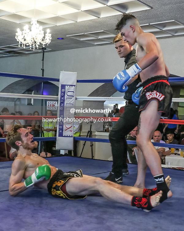 GFC Muay Thai Boxing show at Ashton Masonic Hall, Manchester.