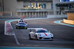 December 13, 2018 - Abu Dhabi, EMIRATS ARABES UNIS - 89 GDL RACING PORSCHE 911 GT3 GT CUP MOHAMMED HUSSAIN (UAE) BASHAR MARDINI (UAE) CHRISTOPHER ZOECHLING  (Credit Image: © Panoramic via ZUMA Press)