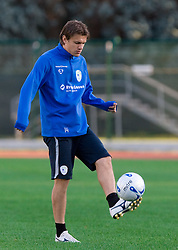 Zlatko Dedic of Slovenian National football team at practice a day before the last 2010 FIFA Qualifications match between San Marino and Slovenia, on October 13, 2009, in Olimpico Stadium, Serravalle, San Marino.  (Photo by Vid Ponikvar / Sportida)
