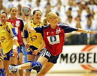 Håndball, 5. juni 2005,  Norge - Sverige, kvinner, damer , Randi Gustad, Norge