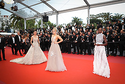 Tallia Storm, Lupita NyongÂ'o attends the screening of Sorry Angel (Plaire, Aimer Et Courir Vite) during the 71st annual Cannes Film Festival at Palais des Festivals on May 10, 2018 in Cannes, France. Photo by Shootpix/ABACAPRESS.COM
