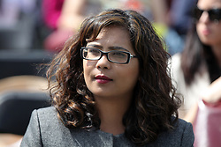 May 28, 2017 - Mississauga, Ontario, Canada - Iqra Khalid, Liberal Member of Parliament, attends a celebration in Mississauga, Ontario, Canada. Iqra Khalid was elected in 2015 by the riding of Mississauga-Erin Mills. She is best known for the M-103 private members motion she put forth to condemn Islamophobia. (Credit Image: © Creative Touch Imaging Ltd/NurPhoto via ZUMA Press)