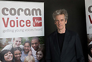 Scottish actor Peter Capaldi hosts the Coram Voices Awards on the 10th April 2019 in London in the United Kingdom.