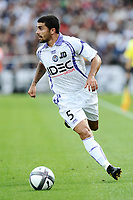 FOOTBALL - FRENCH CHAMPIONSHIP 2010/2011 - L1 - GIRONDINS DE BORDEAUX v TOULOUSE FC - 15/08/2010 - PHOTO GUY JEFFROY / DPPI - PAULO MACHADO (TOU)