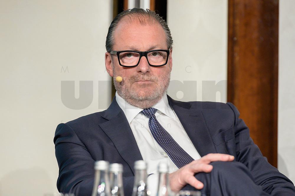 12 SEP 2019, BERLIN/GERMANY:<br /> Lutz Diederichs, CEO BNP Paribas Deutschland, Jahreskonferenz des Wirtschaftsforums der SPD,  The Ritz-Carlton Berlin<br /> IMAGE: 20190912-01-356
