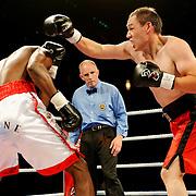Jegbefumere Bone Albert vs Willard Lewis - Cruiserweight Professional Boxing - Photo Archive