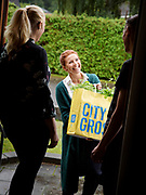 Tina Nordström, Swedish chef. Campaign for client City Gross.<br /> Photo by Ola Torkelsson<br /> Copyright Ola Torkelsson ©