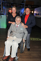 SIR STIRLING & LADY MOSS and GORDON CRUICKSHANK at the Motor Sport magazine's 2013 Hall of Fame awards at The Royal Opera House, London on 25th February 2013.
