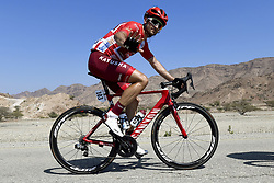 February 15, 2018 - Muscat, Oman - HAAS Nathan of Team Katusha - Alpecin during stage 3 of the 9th edition of the 2018 Tour of Oman cycling race, a stage of 179.5 kms between German University of Technology and Wadi Dayqah Dam on February 15, 2018 in Muscat, Sultanate Of Oman, 15/02/2018 (Credit Image: © Panoramic via ZUMA Press)
