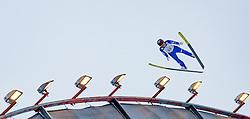 01.03.2017, Lahti, FIN, FIS Weltmeisterschaften Ski Nordisch, Lahti 2017, Nordische Kombination, Skisprung, Grossschanze HS130 m, im Bild Akito Watabe (JPN) // Akito Watabe of Japan during Skijumping competition of Nordic Combined of FIS Nordic Ski World Championships 2017. Lahti, Finland on 2017/03/01. EXPA Pictures © 2017, PhotoCredit: EXPA/ JFK