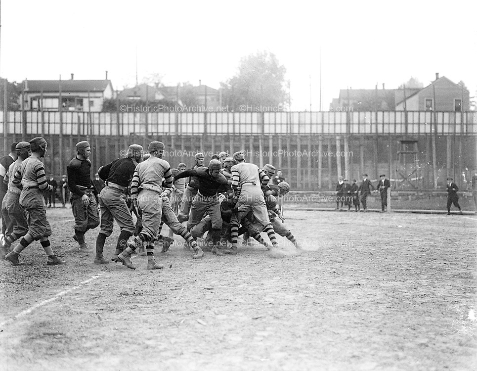 """FHS - WHS 1915"" (football game at Multnomah Field) 10/8/15"