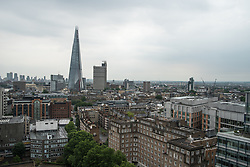 June 27, 2017 - London, United Kingdom - View of the urbanization of the London' Southbank, with The Shard, London on June 27, 2017. The Shard is a 95-storey skyscraper in Southwark, that forms part of the London Bridge Quarter development. Standing 309.7 metres (1,016 ft) high, the Shard is the tallest building in the United Kingdom. (Credit Image: © Alberto Pezzali/NurPhoto via ZUMA Press)