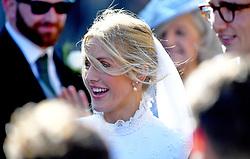 The wedding of singer Ellie Goulding to Caspar Jopling. York Minister.