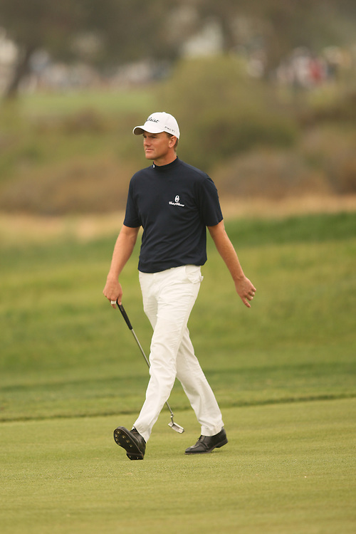 Robert Karlsson during the third round of the 2008 United States Open Championship at Torrey Pines Golf Course in La Jolla, California on Saturday, June 14, 2008. .