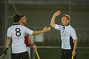 Richmond v Southgate - Men's Hockey League East Conference, Quintin Hogg Memorial Ground, Chiswick, London, UK on 22 October 2016. Photo: Simon Parker