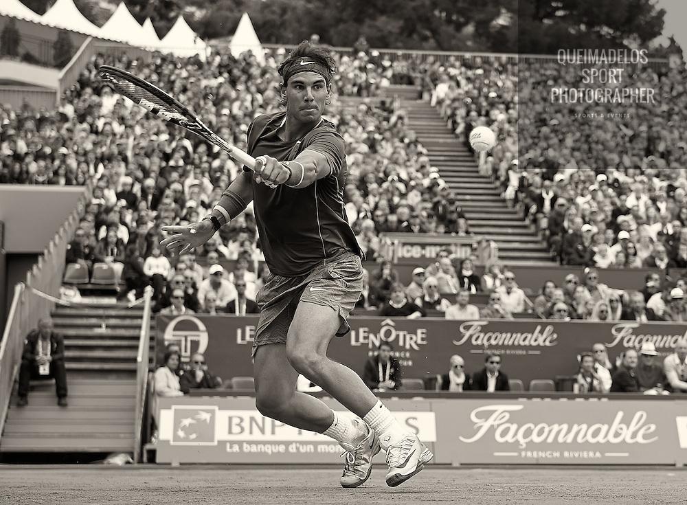 MONTE-CARLO, MONACO - APRIL 16:  ATP Monte Carlo Masters, at the Monte-Carlo Country Club on April 16, 2014 in Monte-Carlo, Monaco. (Photo by Manuel Queimadelos)