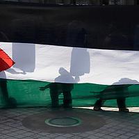 Demonstration against the israeli attacks on  Lebanon,  Edinburgh  29 July 2006<br />