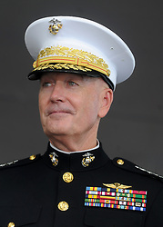 Chairman, Joint Chiefs of Staff. General Joseph F. Dunford, Jr during a graduation and commissioning ceremony of US Military Academy at the U.S. Military Academy in West Point, NY, USA, on May 26, 2018. Photo by Dennis Van Tine/ABACAPRESS.COM
