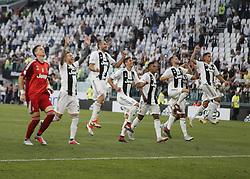 August 25, 2018 - Turin, Italy - Juventus team during Serie A match between Juventus v Lazio, in Turin, on August 25, 2018  (Credit Image: © Loris Roselli/NurPhoto via ZUMA Press)