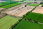 Nederland, Noord-Brabant, Gemeente Sint-Oedenrode, 27-05-2013; Schijndelse heide, ontgonnen woeste grond ten noorden van de Scheidingsweg. Tussen Schijndel en Sint Oederode.<br /> Heather, reclaimed wasteland in Southern Holland.<br /> luchtfoto (toeslag op standard tarieven);<br /> aerial photo (additional fee required);<br /> copyright foto/photo Siebe Swart.