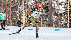 24.02.2017, Lahti, FIN, FIS Weltmeisterschaften Ski Nordisch, Lahti 2017, Nordische Kombination, Langlauf, im Bild Johannes Rydzek (GER) // Johannes Rydzek of Germany during the Nordic Combined Competition of FIS Nordic Ski World Championships 2017. Lahti, Finland on 2017/02/24. EXPA Pictures © 2017, PhotoCredit: EXPA/ JFK