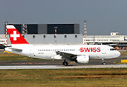 Swiss International Airlines, Airbus A319 Photographed at Malpensa airport, Milan, Italy