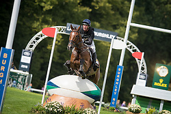 Oliver Townend (GBR) & Dromgurrihy Blue - Cross Country - Land Rover Burghley Horse Trials - Stamford, Lincolnshire, United Kingdom - 05 September 2015