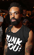 August 23, 2015- Brooklyn, NY-United States: Recording Artist Bilal attends the 2015 AFROPUNK Festival on August 23, 2015 held at Commodore Barry Park in Brooklyn, New York City.  AFROPUNK is an influential community of young, gifted people of all backgrounds who speak through music, art, film, comedy, fashion and more. Originating with the 2003 documentary that highlighted a Black presence in the American punk scene, it is a platform for the alternative and experimental.  (Terrence Jennings/terrencejennigs.com)