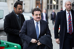© Licensed to London News Pictures. 02/12/2016. London, UK. Ambassador of Saudi Arabia to the UK Mohammed bin Nawaf bin Abdulaziz arriving at Chatham House for Boris Johnson's first set piece speech as Foreign and Commonwealth Secretary. Photo credit : Tom Nicholson/LNP