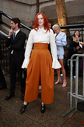 September 13, 2018 - New York, New York, United States - Karen Elson attends Marc Jacobs show at New York Fashion Week,  in New York City, US, on 12 September 2018. (Credit Image: © Oleg Chebotarev/NurPhoto/ZUMA Press)