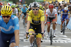 July 20, 2018 - Valence, France - VALENCE, FRANCE - JULY 20 : THOMAS Geraint (GBR) of Team SKY during stage 13 of the 105th edition of the 2018 Tour de France cycling race, a stage of 169.5 kms between Bourg d'Oisans and Valence on July 20, 2018 in Valence, France, 20/07/18 (Credit Image: © Panoramic via ZUMA Press)