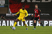 Football - 2020 / 2021 Sky Bet Championship - AFC Bournemouth vs. Barnsley - The Vitality Stadium<br /> <br /> Daryl Dike of Barnsley in action during the Championship match at the Vitality Stadium (Dean Court) Bournemouth <br /> <br /> COLORSPORT/SHAUN BOGGUST
