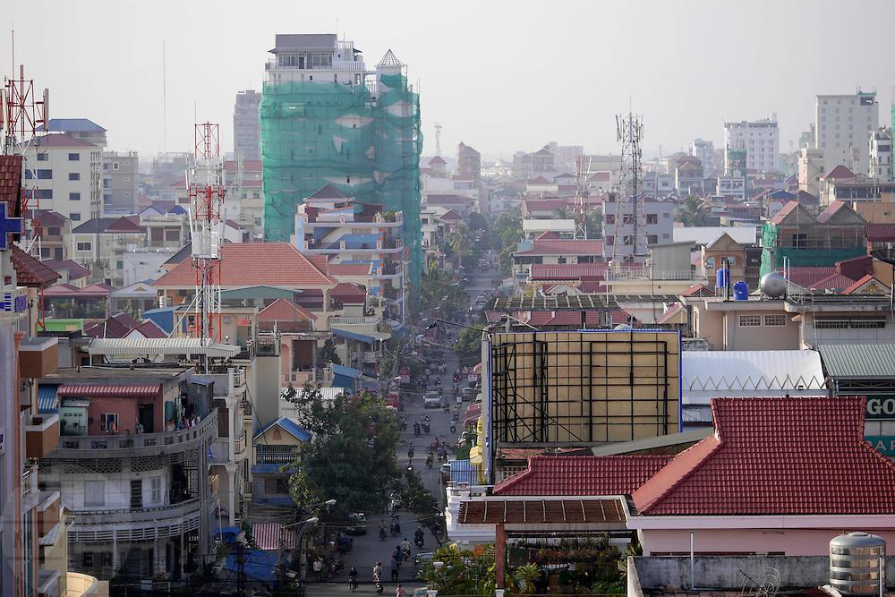 Sfeerbeelden van de hoofdstad van Cambodja, Phnom Penh