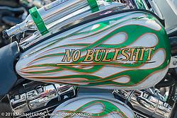 Custom Bagger show at Arizona Bike Week's Cycle Fest at Westworld. USA. April 5, 2014.  Photography ©2014 Michael Lichter.
