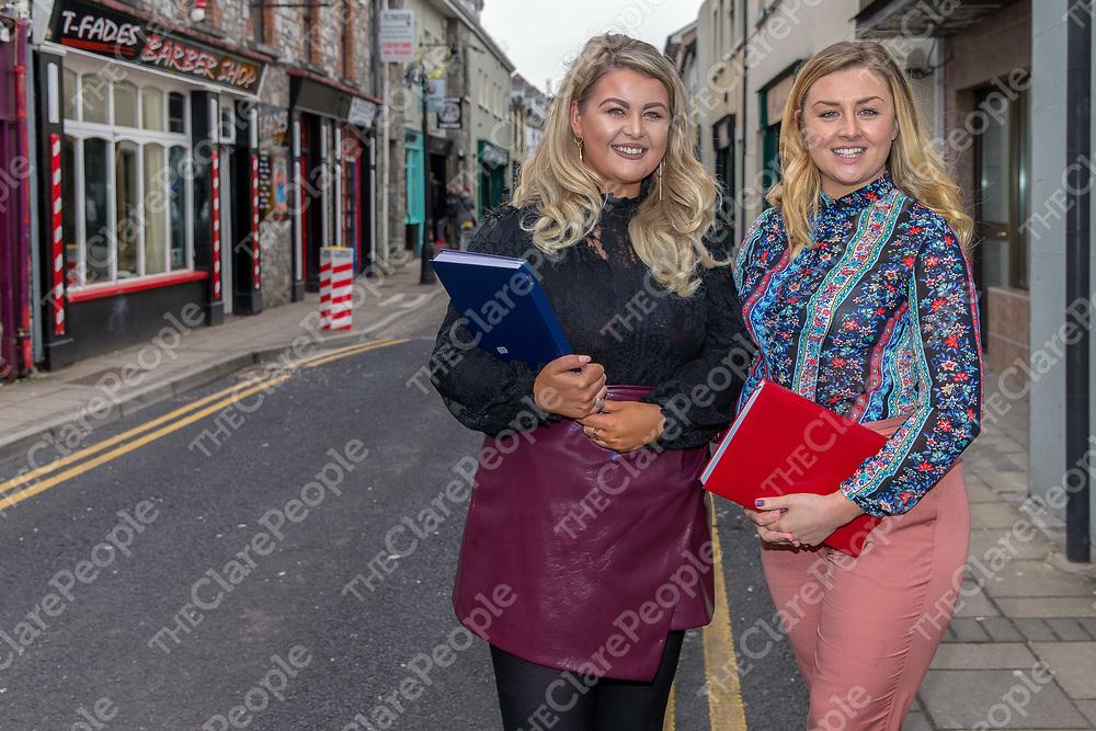 Sales Team Edel Vaughan and Christeena Gleeson