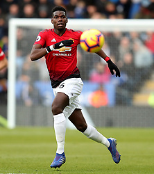 Manchester United's Paul Pogba in action