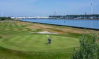 BRIELLE -  Hole 10. Kleiburg , golfbaan.  COPYRIGHT KOEN SUYK