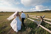 Erin & Ethan, Jackson Hole, Wyoming (ceremony) and Teton Valley, Idaho (reception).