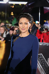 Host Emma Willis  poses on the red carpet before the Blind Auditions begin for the new series of  The Voice on ITV.