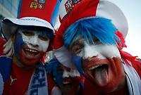 Photo: Steve Bond.<br /> USA v Czech Republic. Group E, FIFA World Cup 2006. 12/06/2006.<br /> Czech fans before their win against USA at Gelsenkirchen.